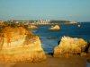 Praia da Ponta de João d'Arens in Algarve near Alvor